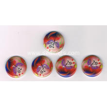 Printed Logo Polyester Button